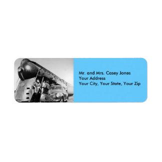 Hey Good Lookin' - Vintage Return Address Label