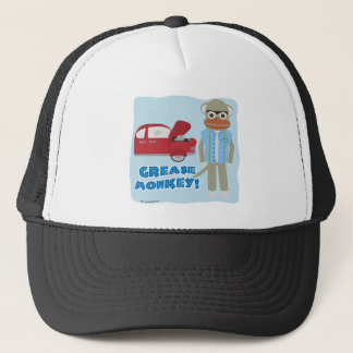 Hey Grease Monkey Trucker Hat