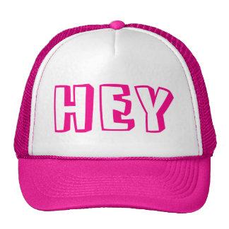 """HEY"" hat"