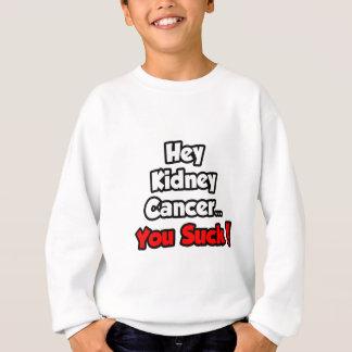 Hey Kidney Cancer...You Suck! Sweatshirt