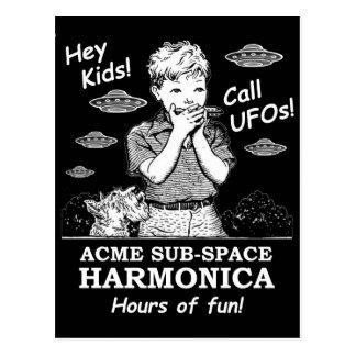 Hey Kids! Call UFOs! Postcard