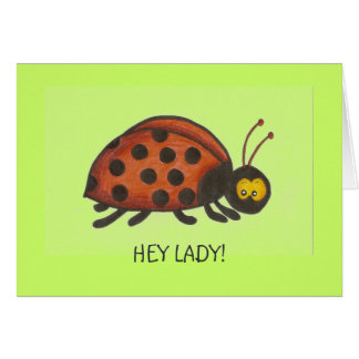 Hey Lady, Lady Bug Cards