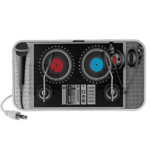 Hey Mister DJ Speaker