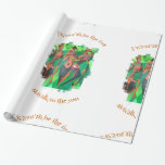 Hey Now - Girls Just Wanna Have Fun Wrapping Paper