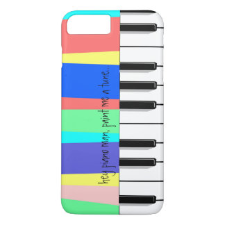 hey piano man, paint me a tune... piano phone iPhone 7 plus case
