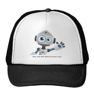 Hey robot you trucker hat