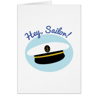 Hey Sailor Card