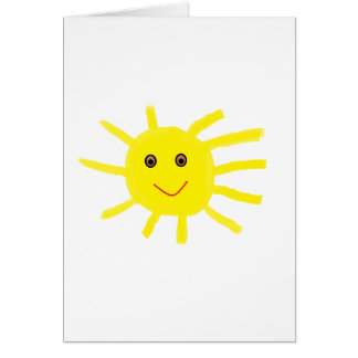 Hey Sunshine Card