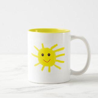 Hey Sunshine Two-Tone Coffee Mug