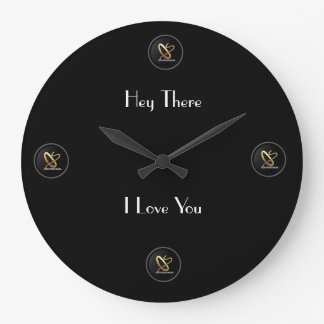 'Hey There I Love You' Clock