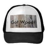 "Hey Trucker, ""Ya Got Any Wood?"" Trucker Hat"