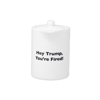 Hey Trump, You're Fired!