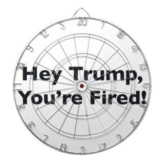 Hey Trump, You're Fired! Dartboard