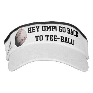 Hey Ump! Tee Ball Visor