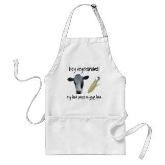 Hey Vegetarians! Standard Apron