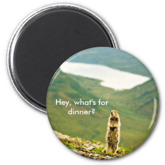 Hey, What's for Dinner? 2 Inch Round Magnet