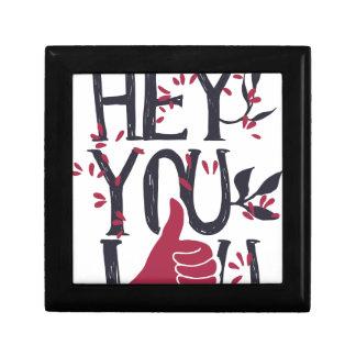 Hey you i LOVE YOU Gift Box