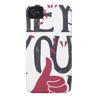 Hey you i LOVE YOU iPhone 4 Cases