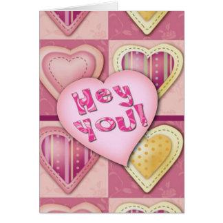 Hey You, Make me a Sandwich funny Greeting Card