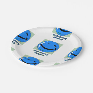 HF Ambulatory Surgery 7 Inch Paper Plate
