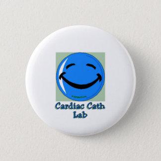 HF Cardiac Cath Lab 2 Inch Round Button