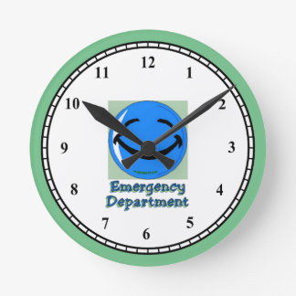 HF Emergency Department Wall Clock