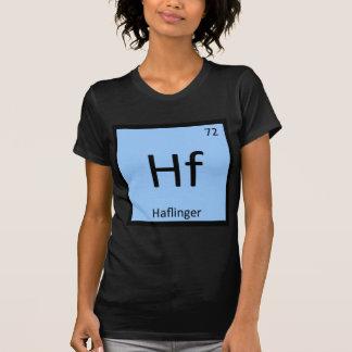 Hf - Haflinger Pony Chemistry Periodic Table Horse T-Shirt