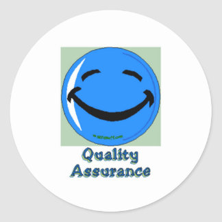 HF Quality Assurance Classic Round Sticker