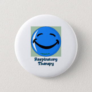 HF Respiratory Therapy 2 Inch Round Button