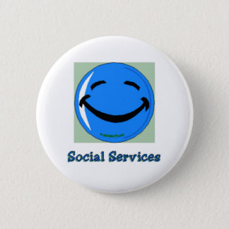 HF Social Services 2 Inch Round Button