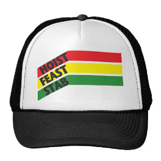 HFS hat-rasta Trucker Hat