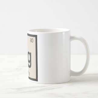 Hg - Hoagie Chemistry Periodic Table Symbol Coffee Mug