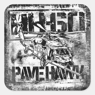 HH-60 Pave Hawk Square Stickers Sticker