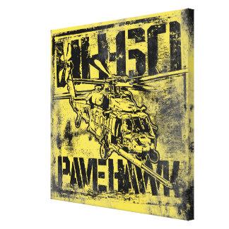 HH-60 Pave Hawk Stretched Canvas Print