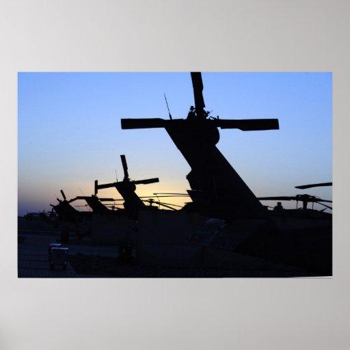 HH-60 Pave Hawks Print