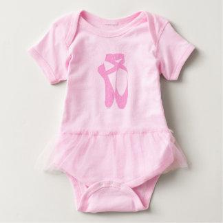 HI54Dance Team Pointe Candy Curls Baby Bodysuit