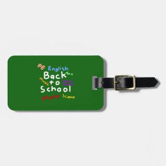 HI54EDU Back to School Luggage Tag