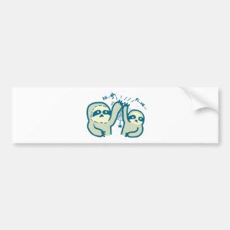 Hi-5 Slothes Bumper Sticker