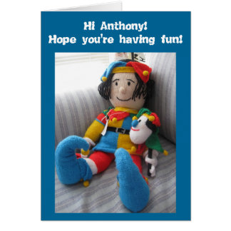 Hi Anthony#6 Card