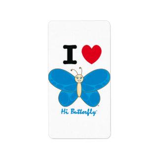 Hi Butterfly® Avery Label