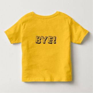 Hi Bye Alligator Smile Toddler T-shirt