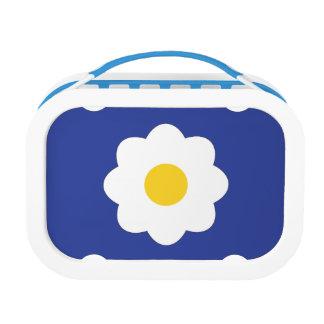 Hi. Daisy! Yubo Lunchbox, Blue Lunchboxes