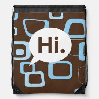Hi. Drawstring Backpack