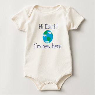 Hi Earth! I'm new here. Baby Bodysuit
