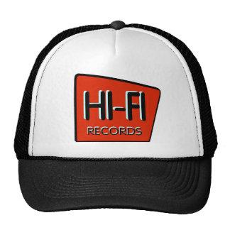 HI-FI Retro Red Trucker Cap Trucker Hat
