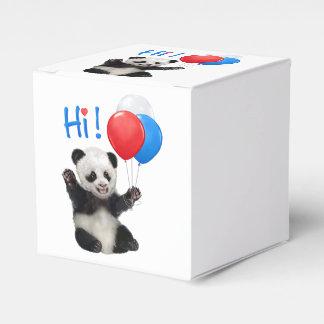 HI FROM BABY PANDA FAVOR BOX