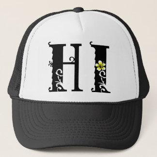 HI Hawaii hibiscus icon Trucker Hat