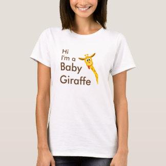 Hi I'm a Baby Giraffe T-shirt