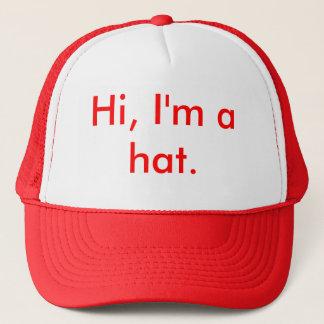 Hi, I'm a hat. Trucker Hat