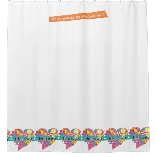 Hi-Lo Travel Shower Curtain